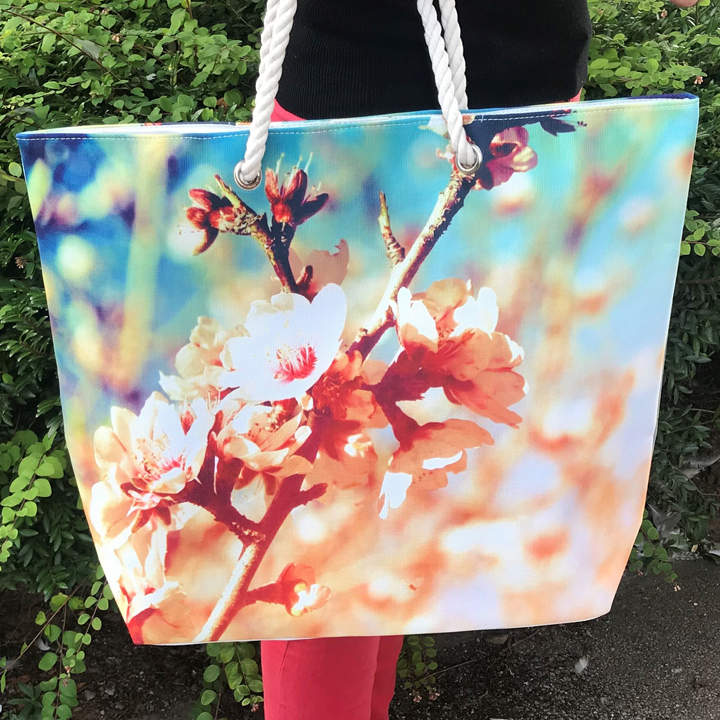 Blossom Beach Bag