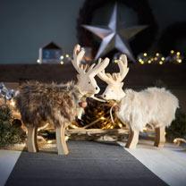 Reindeer Decoration - Brown