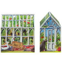 Greenhouse Biscuit Tin