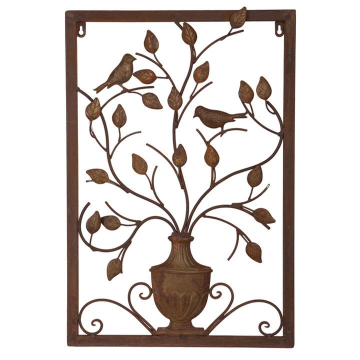 Vase Wall Plaque