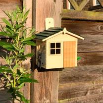 Garden Shed Bird House