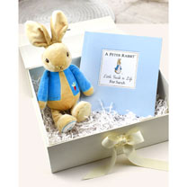 Peter Rabbit Plush Toy & Little Guide to Life