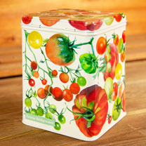 Tomato Tea Caddy