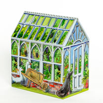Greenhouse Tin with Tea Bags