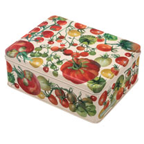 Tomato Tea Caddy & Biscuit Offer