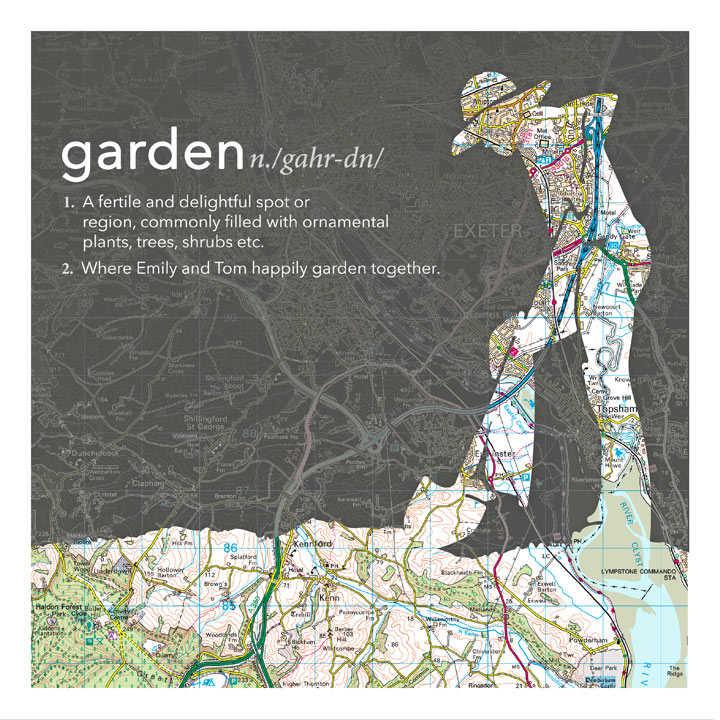Dictionary Definition Map - Digging Gardener