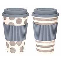 Travel Mug Twin Pack - Grey