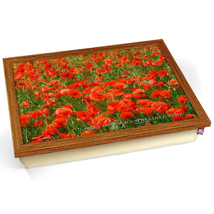 Poppies Lap Tray