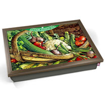 Vintage Vegetables Lap Tray