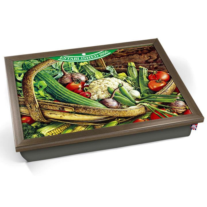 Vintage Vegetables Lap Tray