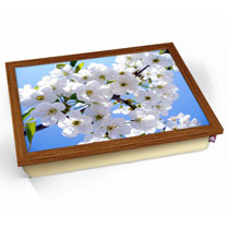 White Meadow Lap Tray