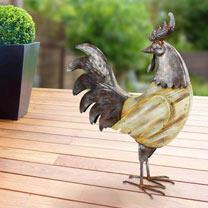 Rustic Wooden Chicken