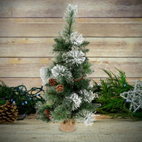 LED Snow Decorative Tree