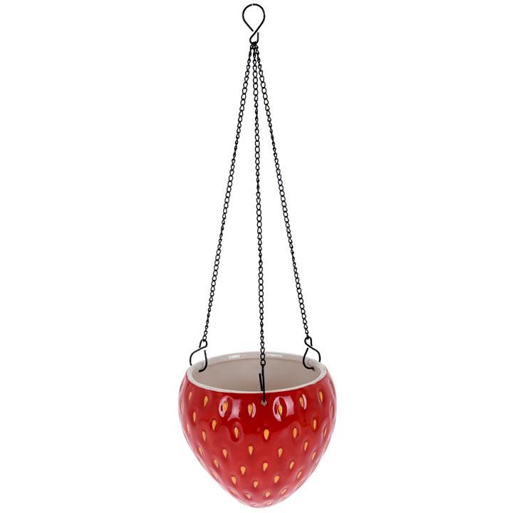 Strawberry Design Flower Pot