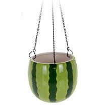 Watermelon Design Flower Pot