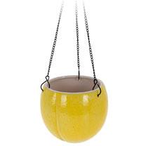 Lemon Design Flower Pot