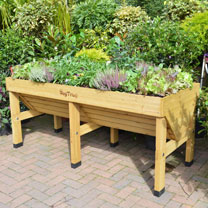 VegTrug 1.8m - Natural with Frame & 3 Covers + FREE Seeds