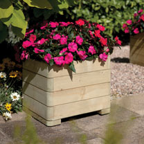 Square Planter - Round Edges