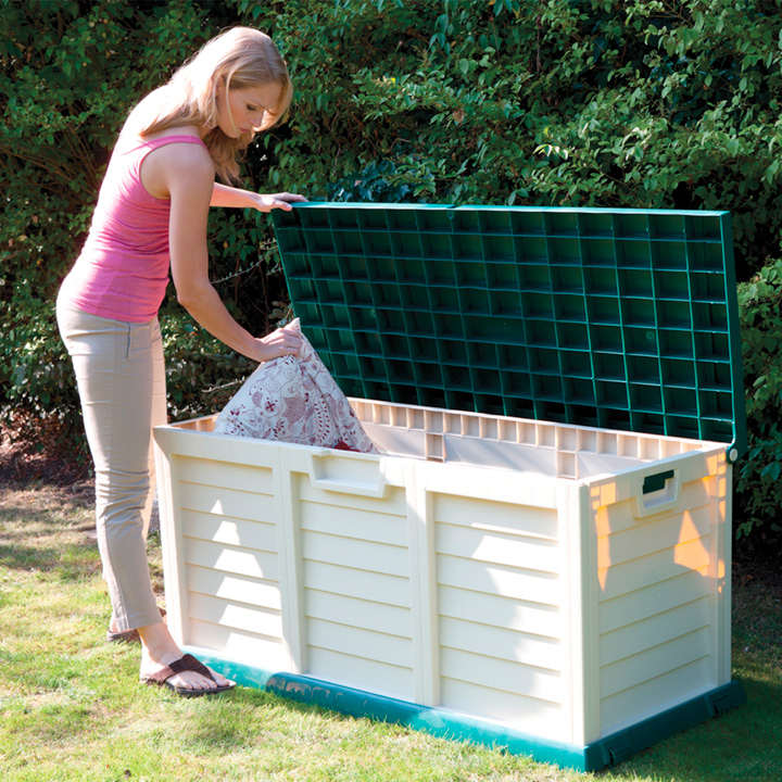 Plastic Storage Box/Bench