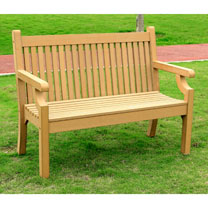 2 Seater Zero Maintenance Bench - Teak