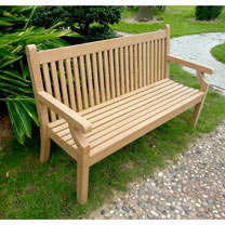 3 Seater Zero Maintenance Bench - Teak