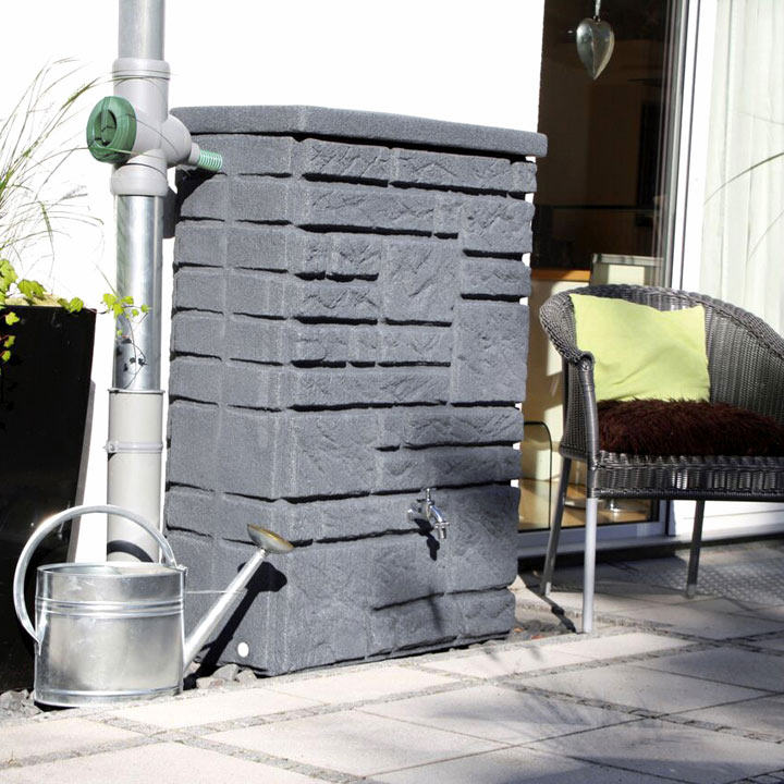 Maurano Water Tank - Charcoal 300 Litre
