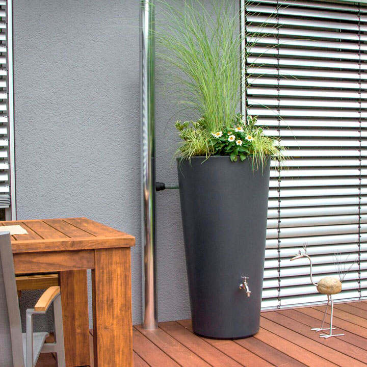 Rain Bowl Flower Water Tank - 150 Litre