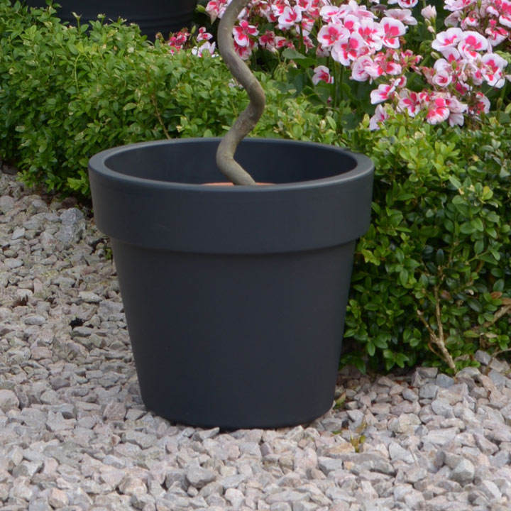 Top Planter Living Grey x 2