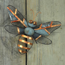 Decorative Wall Bee & Bee Stake