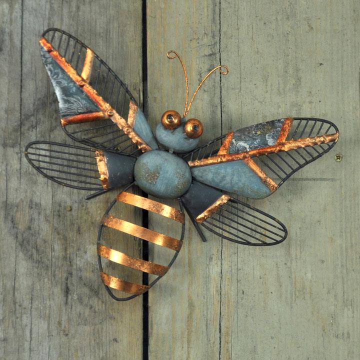 Decorative Wall Bee / Bee Stake