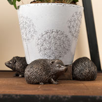 Set of Three 'Hedgehog' Pot Feet