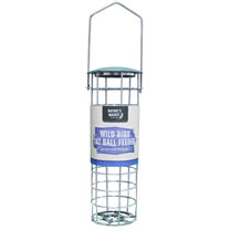 Suet Fat Balls Pack of 50 and Deluxe Suet Fat Ball Feeder Combo