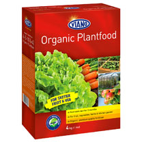 Viano Organic Based Plant Food - 4kg