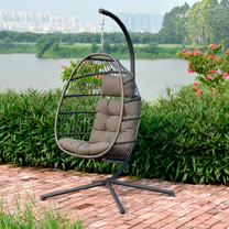 Single Folding Hanging Cocoon Seat
