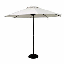 Easy Up Parasol - Grey 3.3m