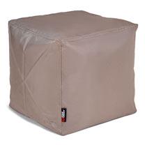The Pouf Bean Bag Footstool - Taupe/Mocha