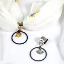 Scarf Jewellery Silver