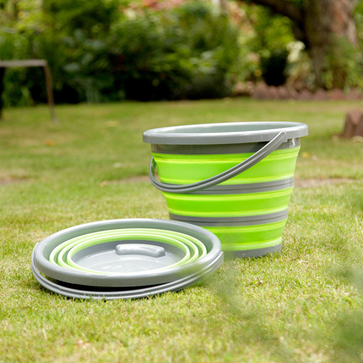 Spear & Jackson Collapsible Bucket - Green