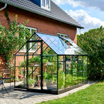 Greenhouse QUBE 610 6,2 Black LP Toughened with Base
