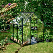 Greenhouse QUBE 66 3,8 Black LP Toughened with Base