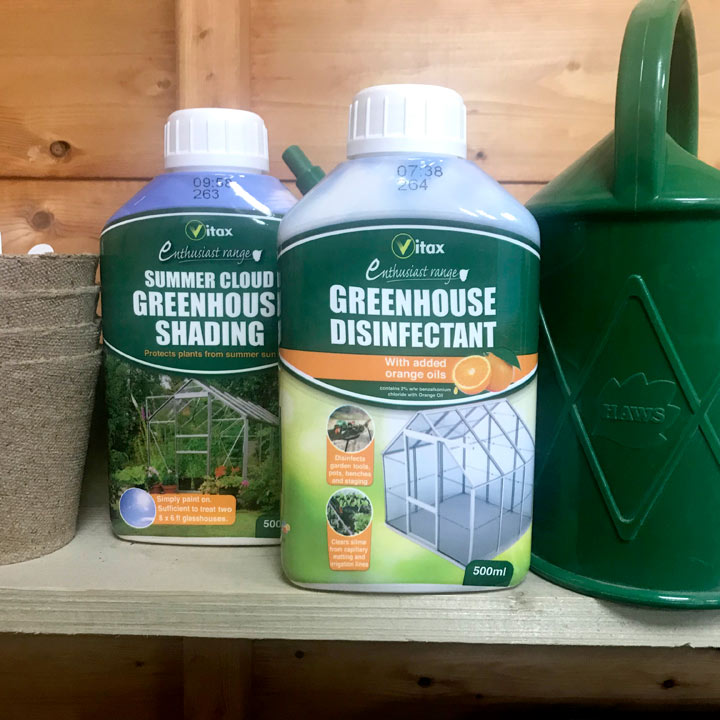 Greenhouse Disinfectant / Summer Cloud Greenhouse Shading