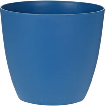 18cm 'Ella' Flower Pot - Blue