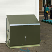 RHS Sentinel - Two-Tone Green with Metal Floor