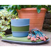 Hip-Trug, Kneeler and Gloves Set - Moss Green