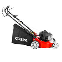 "Cobra 16"" Petrol Powered Lawnmower"