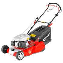 "Cobra 18"" Petrol Powered Rear Roller Lawn Mower"