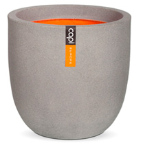 Tutch Pot Ball Planter - 43 x 41cm Grey