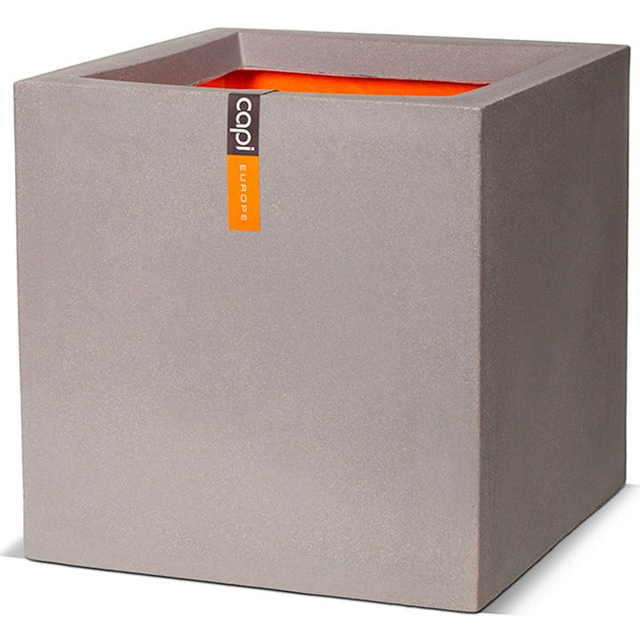 Tutch Square Planter - 40cm Grey