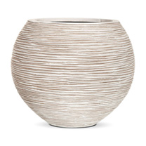 Capi Nature Planter - Vase Ball White