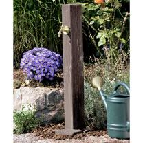 Watering Post Wooden - Walnut